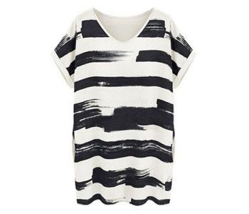 womens striped t shirts manufacturer in tirupur